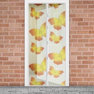 Mágneses szúnyogháló ajtóra, Pillangók 100x210 cm