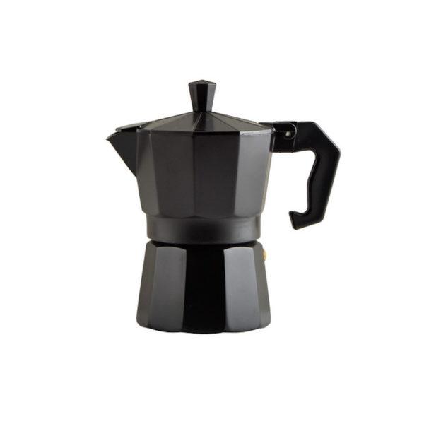 Kotyogós kávéfőző 3 személyes fekete