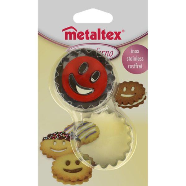 Metaltex Linzer kiszúró Smile