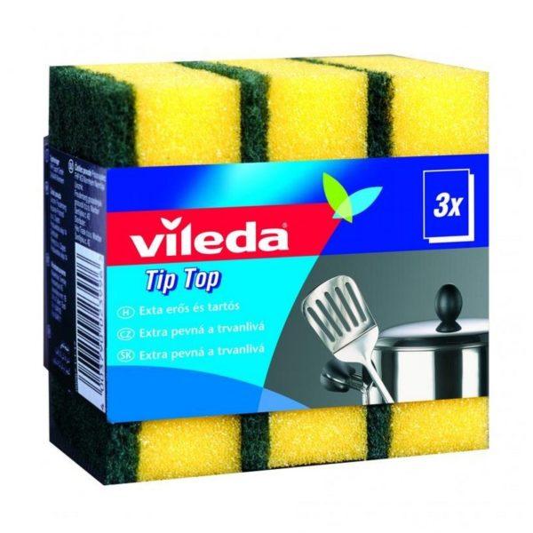 Vileda Tip-Top mosogatószivacs 3 db/csomag F25301