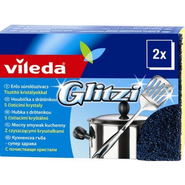 Vileda Glitzi súrolószivacs 2 db/csomag F10064