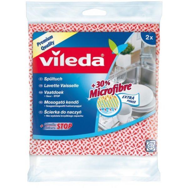 Vileda mosogató kendő 2 db/cs microfiberrel F17302