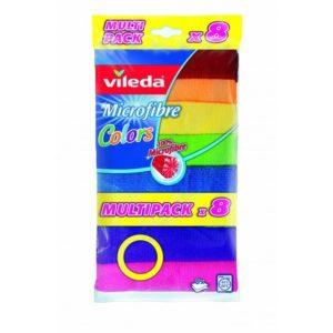 Vileda color mikroszálas törlőkendő 8 db/cs