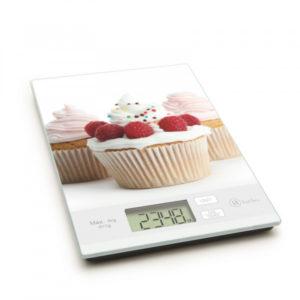 Konyhai mérleg, muffin mintával 5 kg-ig