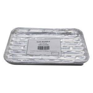 Alumínium grill tálca 3 db-os