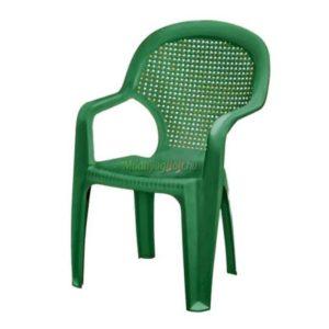 Chicago műanyag szék zöld At.