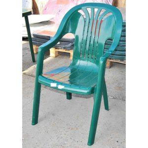 Chorus műanyag szék zöld