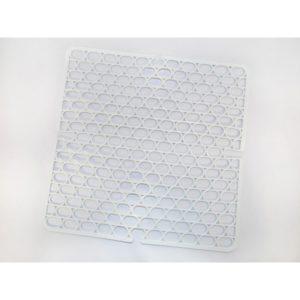 Fanny szögletes műanyag mosogatórács 30x30 cm