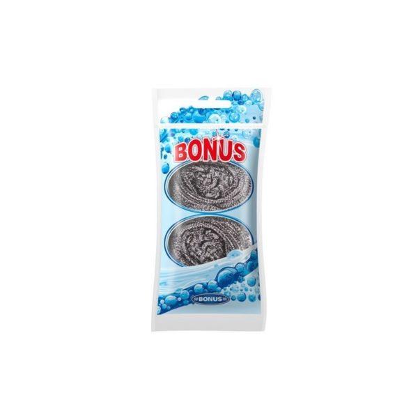 Bonus INOX spirál fém dörzsi 2 db-os B088