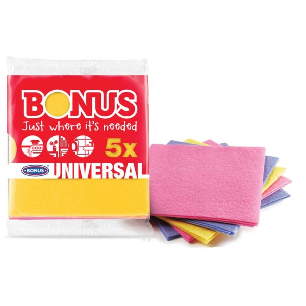 Bonus általános törlőkendő 5 db/csomag