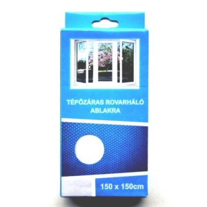 Szúnyogháló 150x150 cm tépőzáras fehér