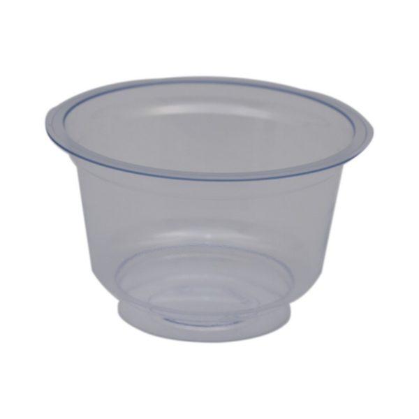Eldobható tégely 200 ml víztiszta 50 db/csomag