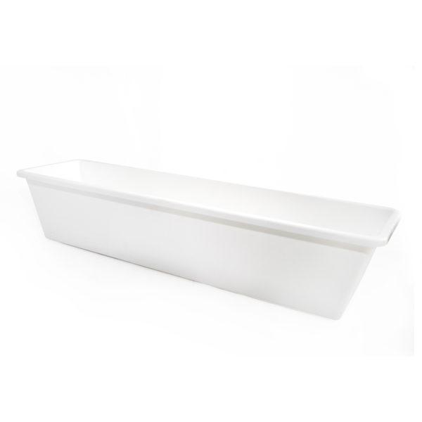 Balkonláda 58 cm fehér