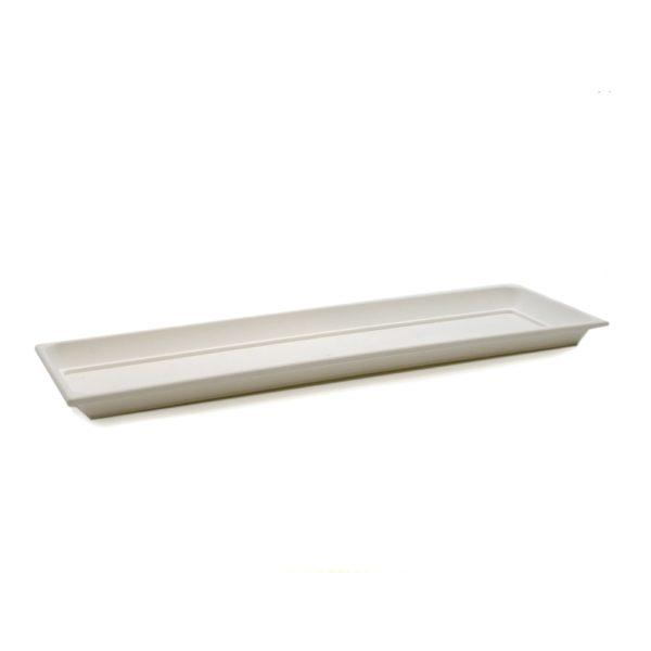Balkonláda alátét 58 cm fehér