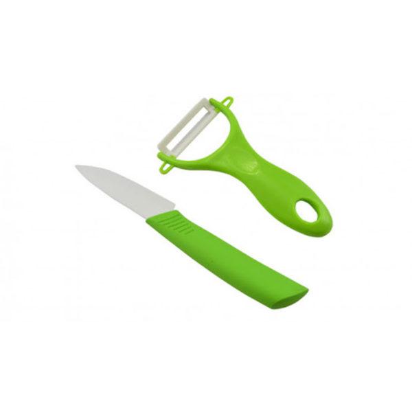 Zöldséghámozó kerámia késsel