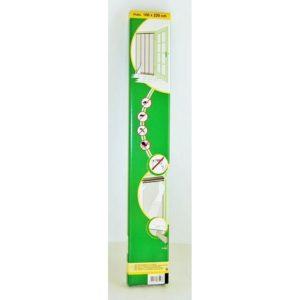 Lamellás szúnyogháló ajtóra 220x100 cm fehér
