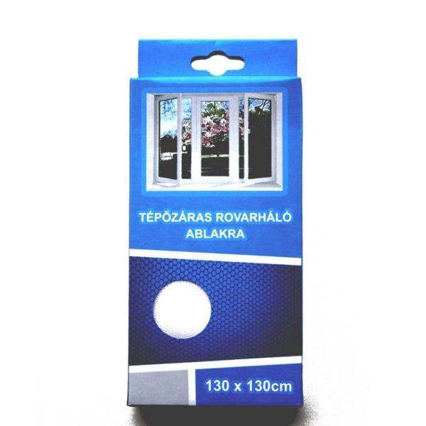 Szúnyogháló 130x130 cm tépőzáras fehér