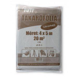 Takarófólia létrázható TUTI 20 m2