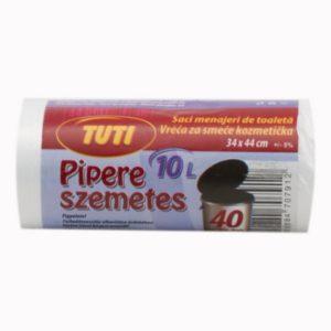 Pipere szemeteszsák 34x44 cm (10 l) 40 db/csomag