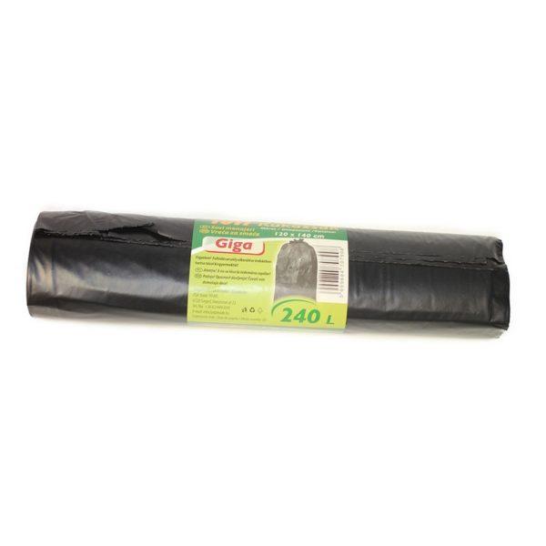 Szemeteszsák TUTI 120x140 cm Giga 5 db-os 240 l