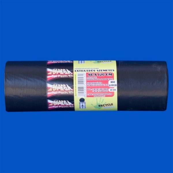 Szemeteszsák 80x120 cm (160 l) 10 db/csomag