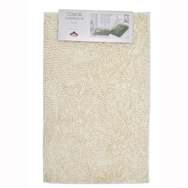 Fürdőszoba szőnyeg 50x80 cm krém