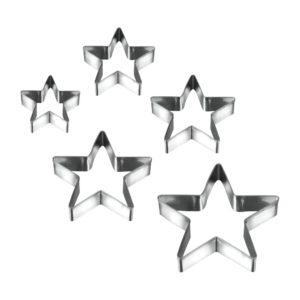 Metaltex Sütikiszúró csillag 5db/cs fém