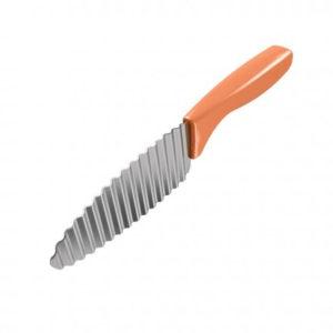 Metaltex Díszítő kés hullámos