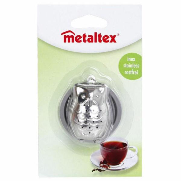 Metaltex Teafilter tartó bagoly+tálca