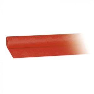 P. Asztalterítő damaszt 8m x 1,2 m piros