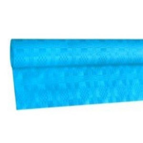 Eldobható papír Asztalterítő damaszt 8x1,2 m világoskék 70007