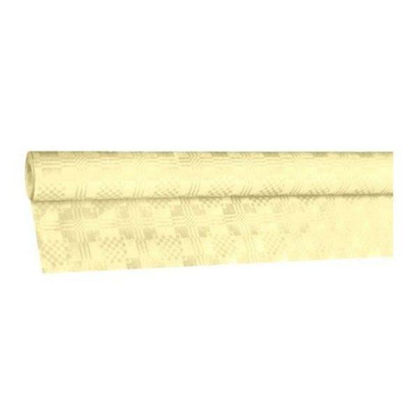 Eldobható Papír Asztalterítő damaszt 8x1,2 m pezsgő