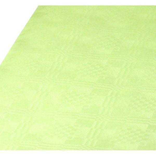 Eldobható papír Asztalterítő damaszt 8x1,2 m sárgászöld 70017