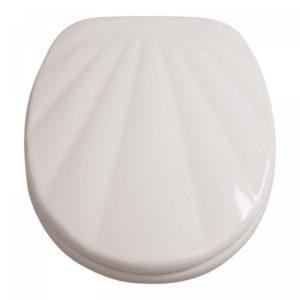 Wc ülőke kagyló mintás fehér