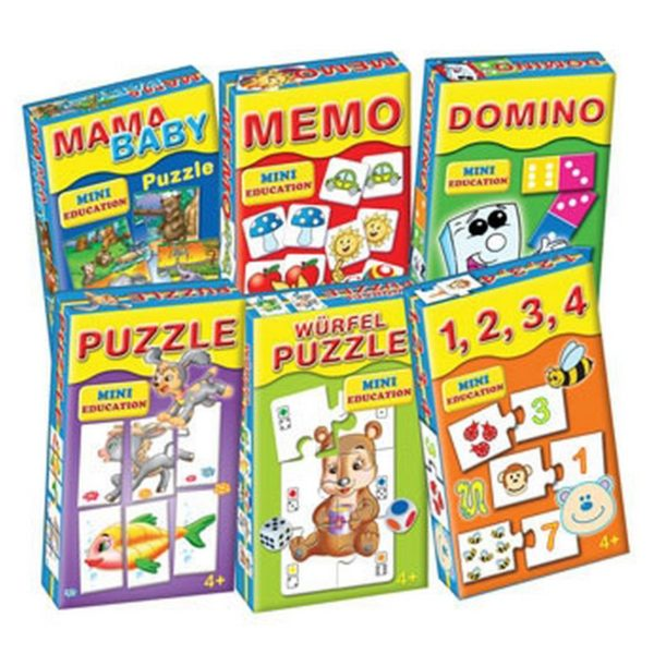 Puzzle mini játszva tanulni